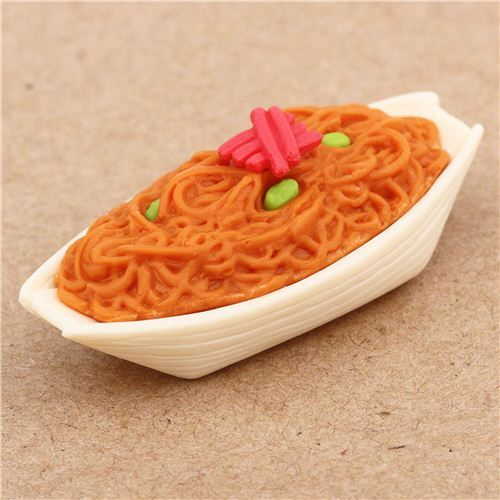Yakisoba eraser by Iwako from Japan
