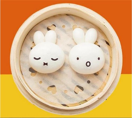 It's Miffy dim sum! This image and the ones above were courtesy of All About Hong Kong's Facebook and Instagram pages