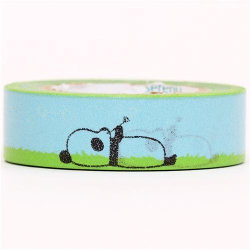 Panda Bear Animal Washi Masking Tape deco tape