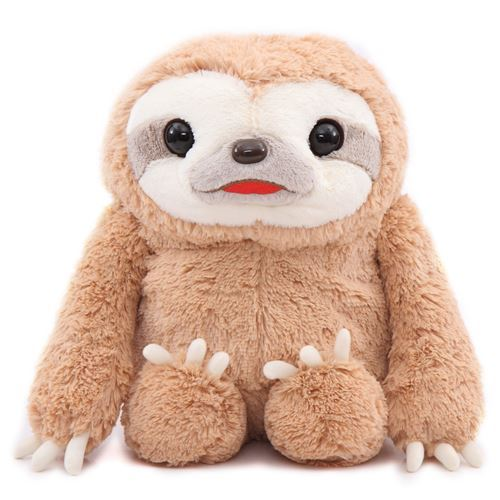 big brown sloth Namakemono no Mikke plush toy Japan