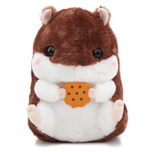 big dark brown white hamster Coroham Coron Cafe plush toy Japan