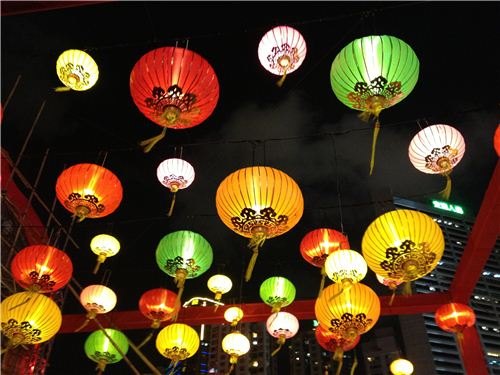 Beautiful Lanterns everywhere