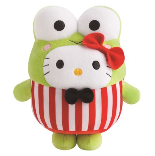 Bubbly Day Hello Kitty Kerokerokeroppi plush toy