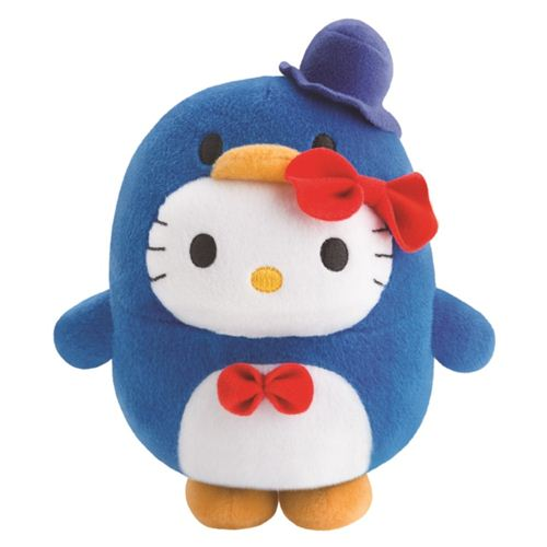 Bubbly Day Hello Kitty Tuxedosam plush toy