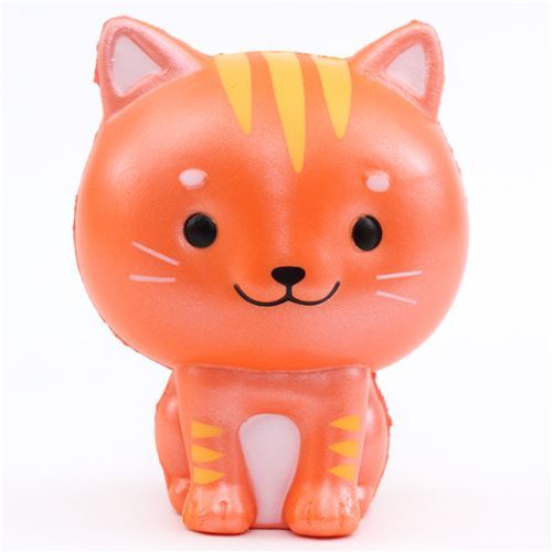 cute orange Chawa Little Mafia Lucky Cat kitty squishy kawaii