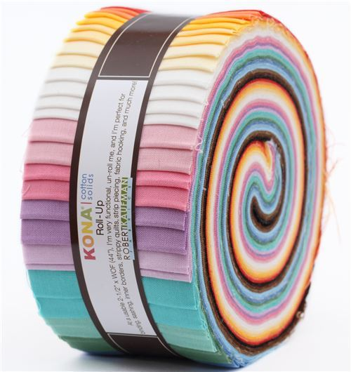 Roll-up fabric roll 30s Palette Robert Kaufman