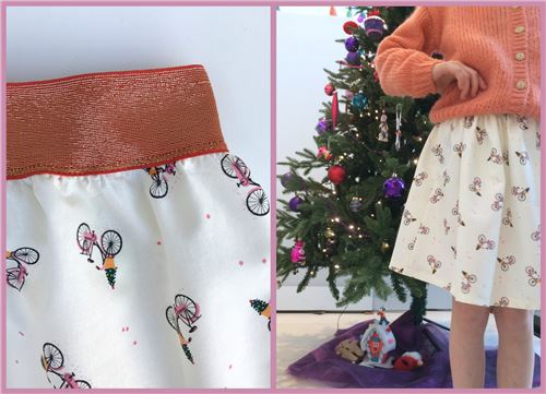 This adds a little extra design to the skirt!