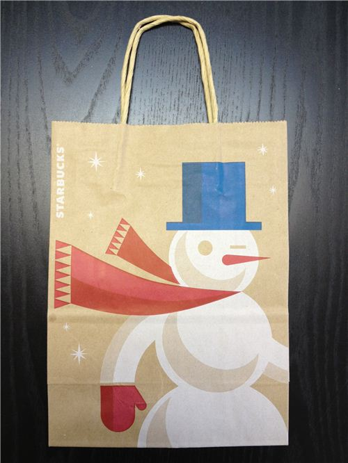 This bag already had a Christmas design