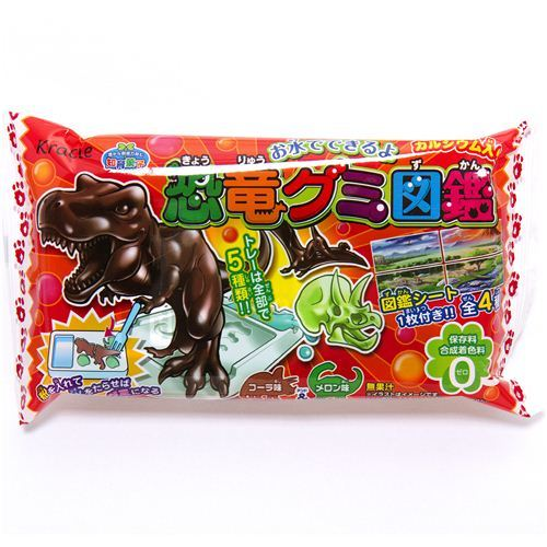 Popin' Cookin' dinosaur candy DIY kit Kracie