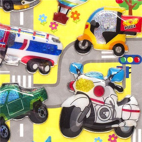 thick sponge stickers vehicles truck car
