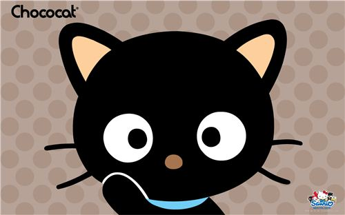 kawaii wallpaper with Sanrio's Chococat