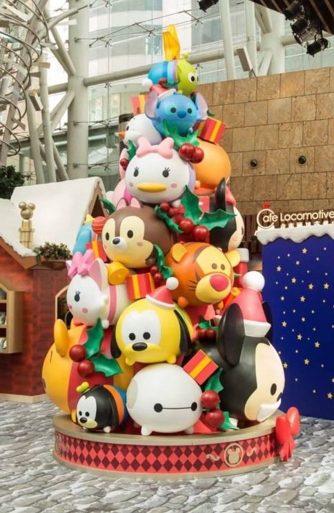 Which character on this Tsum Tsum tree is your favorite?