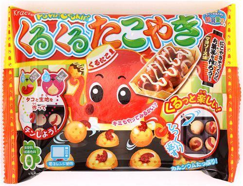 Kuru Kuru Takoyaki Kracie Popin' Cookin' Choco DIY candy