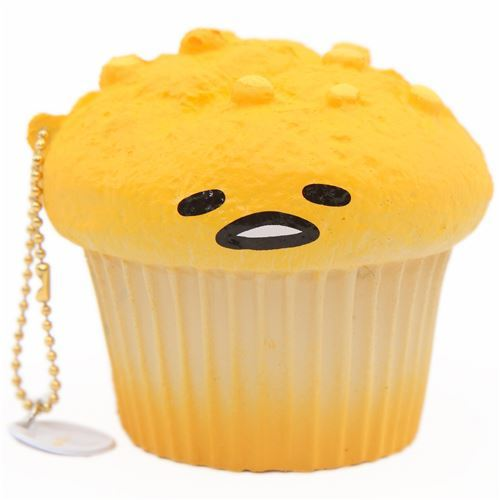 Gudetama muffin squishy by Sanrio