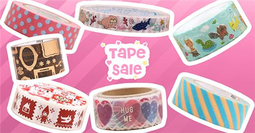 Get awesome tape ON SALE NOW!