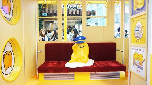 Conductor Gudetama seems to take a break... Again.