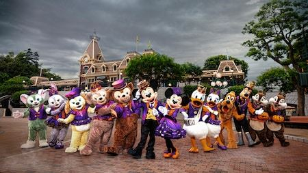 Welcome to Disneyland in Hong Kong