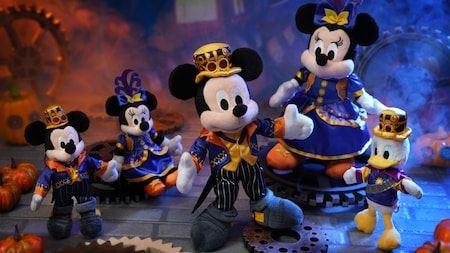 Kawaii Mickey and Minnie Mouse toys