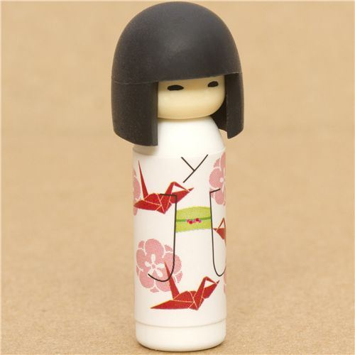 Japanese Kokeshi dolls eraser origami from Japan