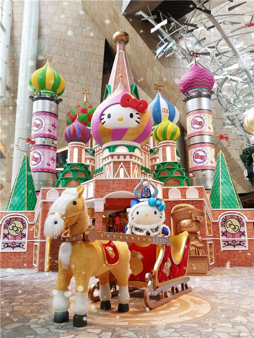 Hello Kitty and Friends in Russia - an official picture of the exhibition from Langham Place Hong Kong