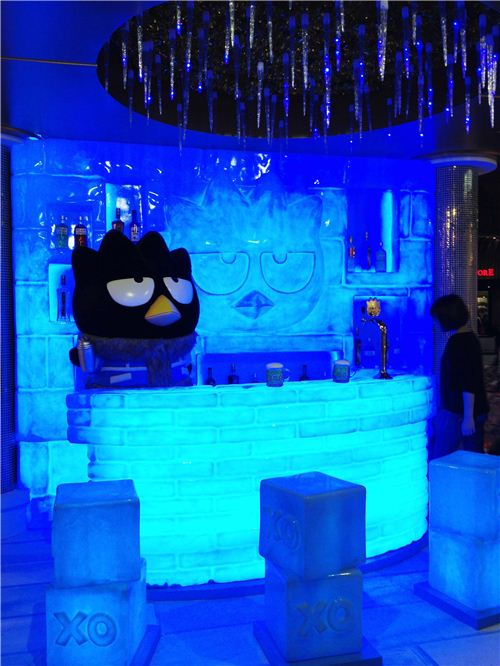 The XO Ice Bar with Bad Badtz-maru looks very Russian