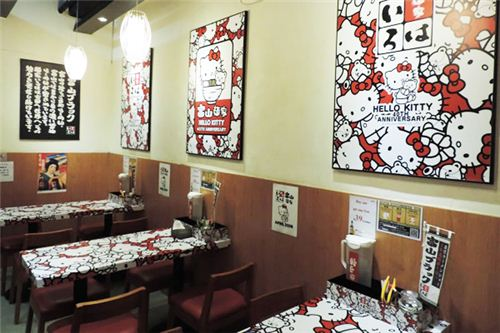 The interior of the restaurant, picture from U-Tavel Hong Kong