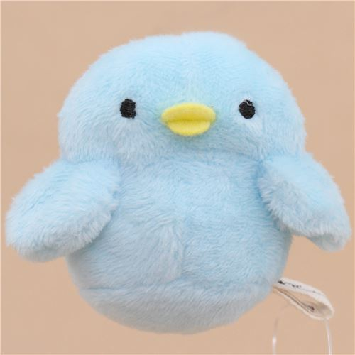 cute small blue bird animal plush toy