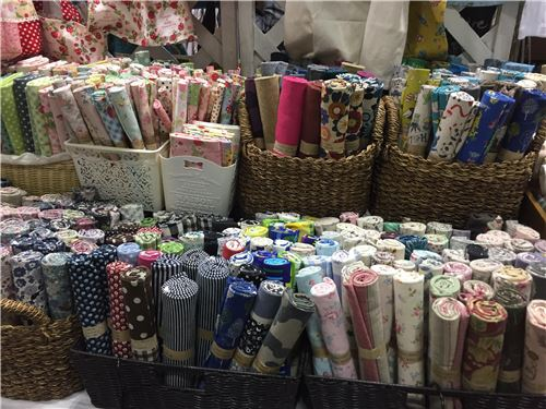 Oodles of fabrics!