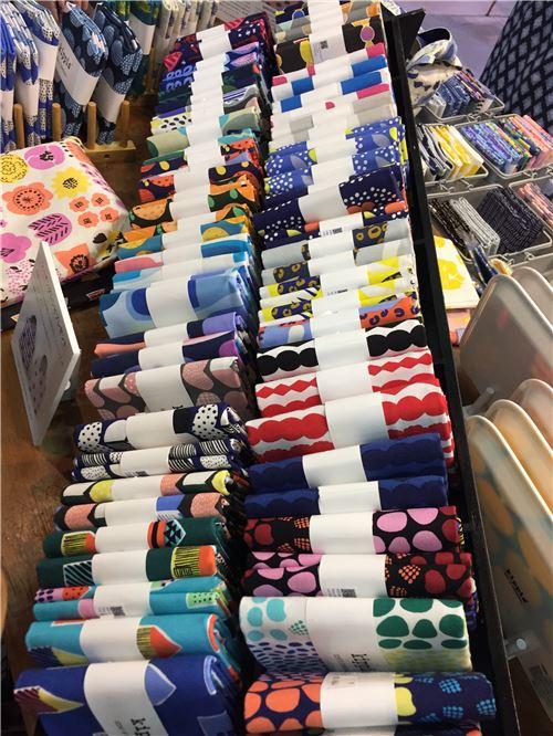 Do you like the fabrics here?
