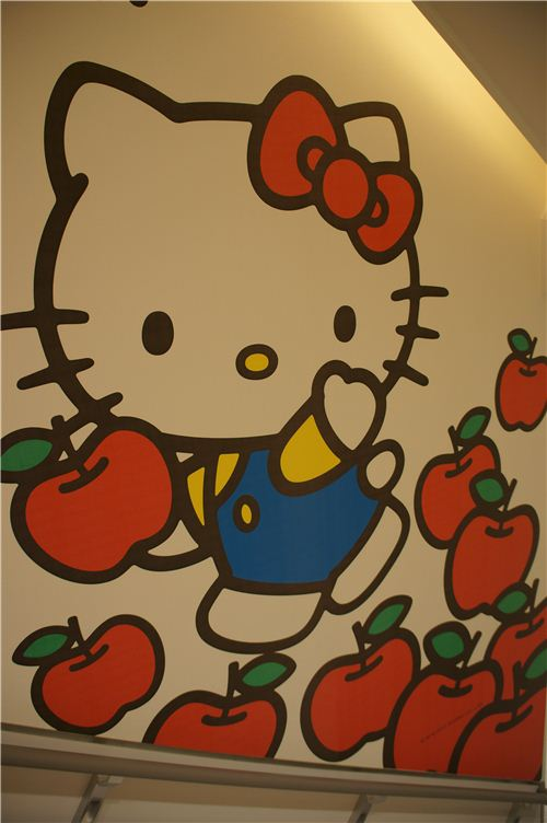 Every hallway has super cute designs