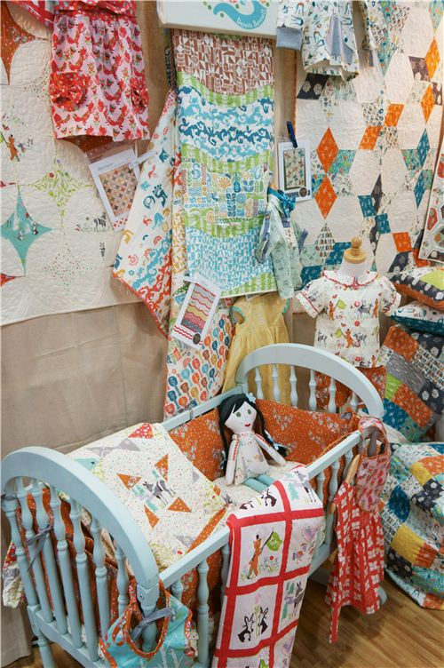 Lovely quilts and blankets for babies and children
