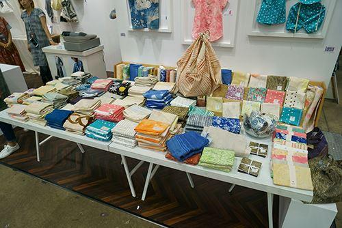 So many beautiful Nani Iro fabrics!
