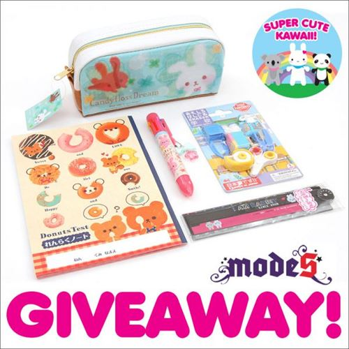 Join Our Giveaway with Super Cute Kawaii!