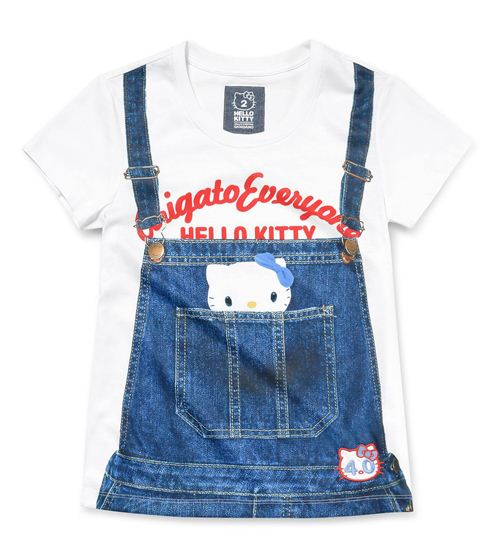 Hello Kitty dungarees women's shirt