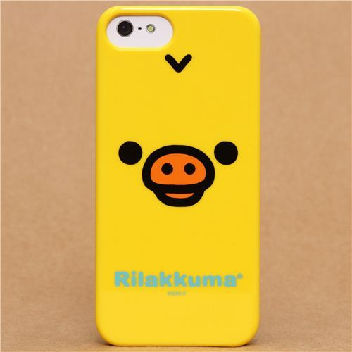 Rilakkuma yellow chick iPhone 5 hard cover case