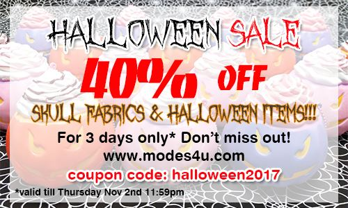 Less than 24 hours until our Halloween Sale ends! HURRY!
