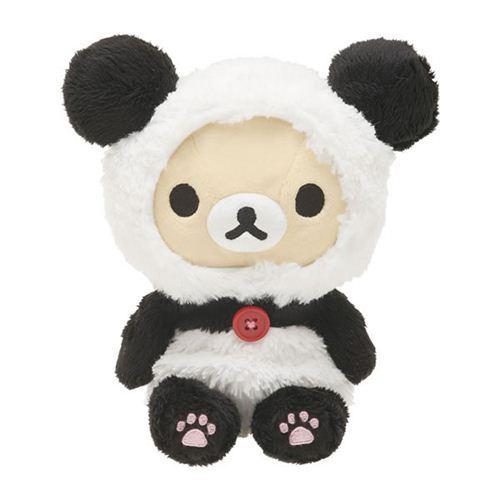 kawaii Rilakkuma white teddy bear as panda plush toy