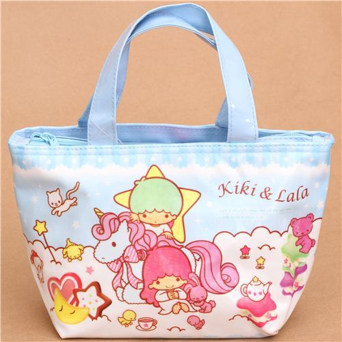 Little Twin Stars unicorn lunch bag thermal bag from Japan