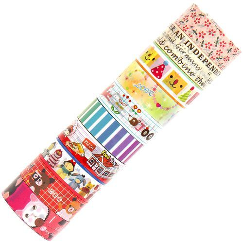 kawaii Deco Tape adhesive tape 10pcs Set 55
