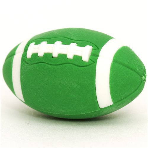 cool green eraser American Football