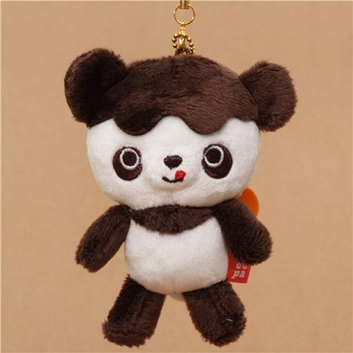 Chocopa bear with chocolate cover plush charm San-X
