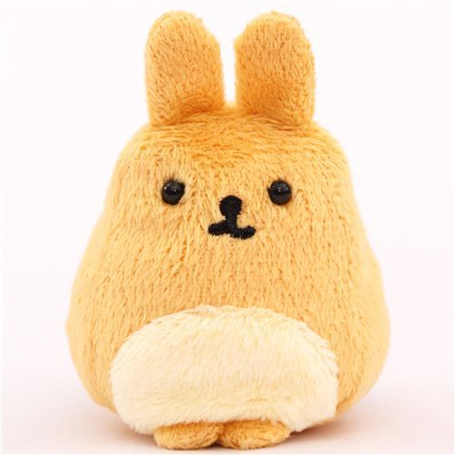 light brown Mofutans mochi rabbit plush toy by San-X from Japan