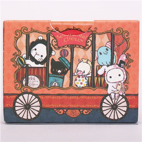 Sentimental Circus circus wagon mini notepad diary