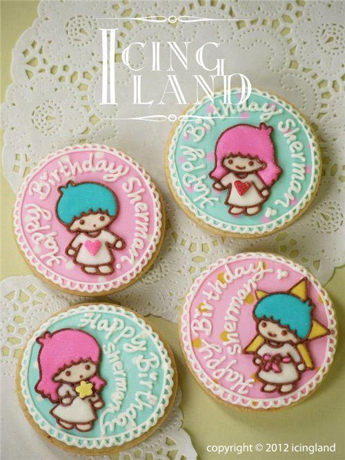 Super cute Litlle Twin Stars cookies