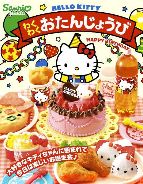 Re-Ment Hello Kitty Birthday Party miniature blind box