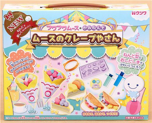 DIY paper mousse clay crepes cake fruit cake Japan