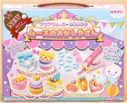 DIY paper mousse clay mini cake sweets Japan