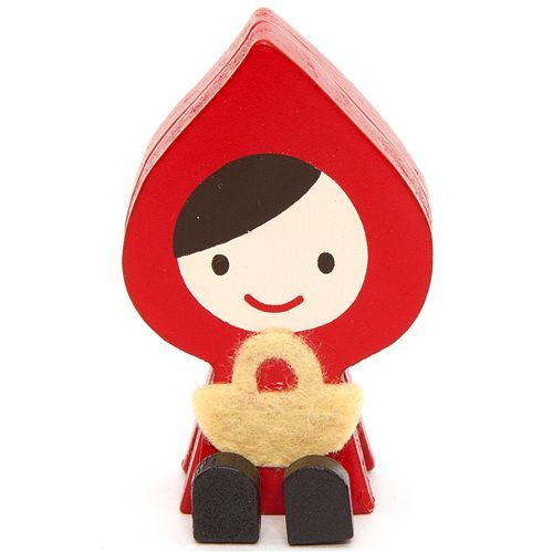 cute Little Red Riding Hood card holder Otogicco Japan