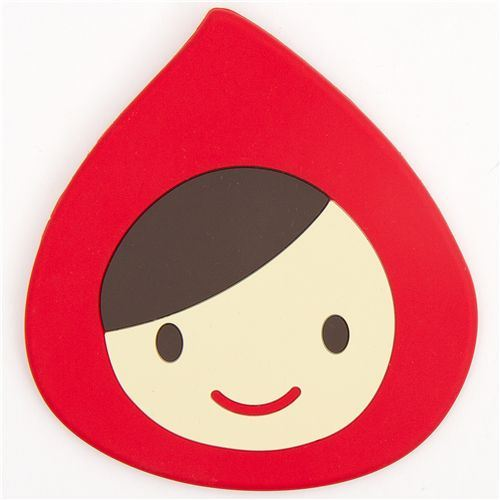 cute Little Red Riding Hood coaster Otogicco from Japan