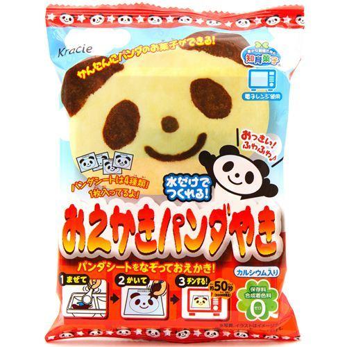 DIY Popin' Cookin' Oekaki panda yaki panda bear cake set